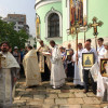 Крестный ход в день престольного праздника