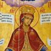 &#171;Всех скорбящих Радосте и обидимых Заступнице, <...> Мати Бога Вышнего, Ты еси Пречистая, потщися, молимся, спастися рабом Твоим&#187;