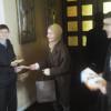 В Великую субботу молодёжь прихода раздавала миссионерские листовки