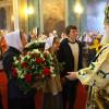 Молодёжь храма поздравила владыку Арсения с днём тезоименитства