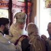 В день престольного праздника состоялось архиерейское богослужение