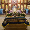В праздник Успения Божией Матери было совершено молебное пение прославленным во святых членам Поместного Собора 1917-1918 гг.