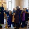 Состоялась традиционная экскурсия по храму для учащихся школы №1231 (ул. Плющиха, 39)
